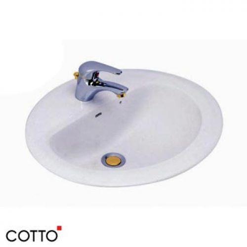 Chậu lavabo âm bàn COTTO C008