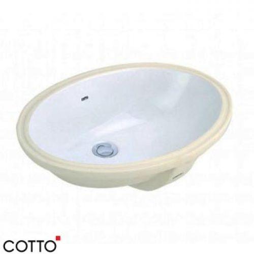 Chậu lavabo âm bàn COTTO C017