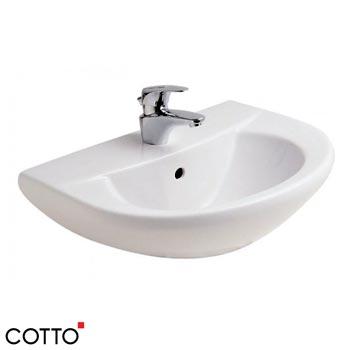Chậu lavabo treo tường COTTO C014