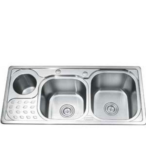 Chậu rửa bát Gorlde GD 5403 (có hộp rác)