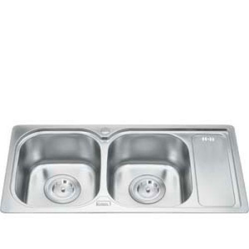 Chậu rửa bát Gorlde GD 5505 (2 hố bàn)
