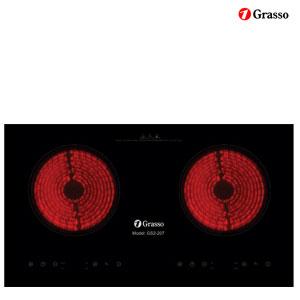 Bếp hồng ngoại Grasso GS2-207