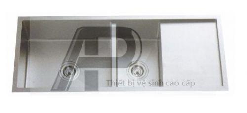 Chậu RB Đúc Inox 304 - 1606R KT:1100x450x230