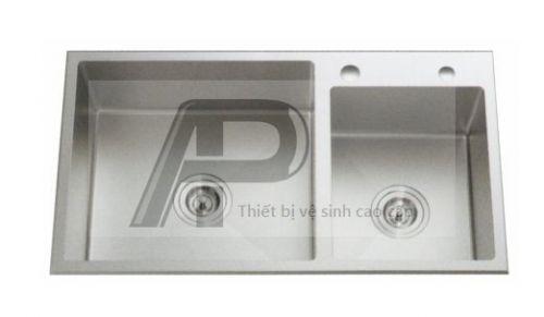 Chậu RB Đúc Inox 304 - 211R KT:780x440x230