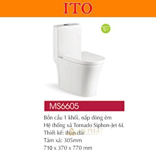 BỒN CẦU ITO MS6605