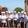 Lễ động thổ Dự án xây dựng nhà ở cho cán bộ công nhân viên Thông tấn xã Việt Nam